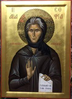 Byzantine Icons, Orthodox Icons, Saints, Female