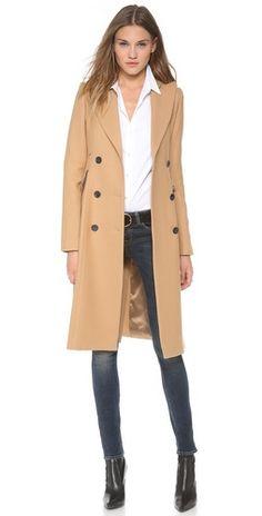 the perfect camel coat