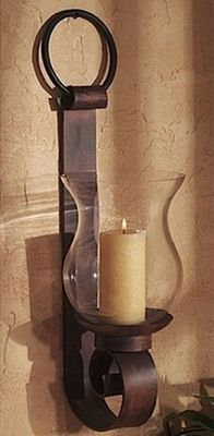 tuscan wall sconce candle wall sconcesiron