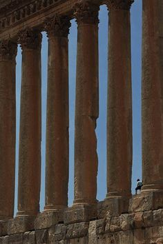 Lebanon in pictures Baalbek, or Heliopolis as the Romans named it, is the largest Roman temple on Earth and has the tallest columns Photograph: Max Milligan
