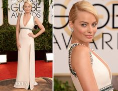 Margot Robbie was definitely Best Dressed Last Night at the 2014 Golden Globes...coming in close 2nd to Olivia Wilde. #goldenglobes2014 #margotrobbie #bestdressed
