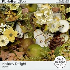 Holiday Delight - full kit By Dita B Designs