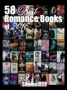 Congrats to these 58 best romance books of 2016! ❤️ What a fabulous list from /angiepangie/!