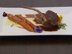 Week 9 Recipes | MasterChef Australia  Lamb cutlets with balsamic jus