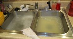 """There are many benefits to having a garbage disposal. The main purpose is to make cleaning your dishes faster and easier. However, one of the most common assumptions is, """"I have a garbage disposal; Deep Cleaning Tips, House Cleaning Tips, Cleaning Solutions, Spring Cleaning, Cleaning Hacks, Cleaning Products, Cleaning Items, Cleaning Painted Walls, Glass Cooktop"""