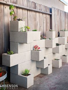 Painting these would retain the water in cement better, and be a sure eye catcher...
