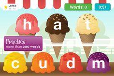 Get spelling practice on the road with the Kindergarten Reading app
