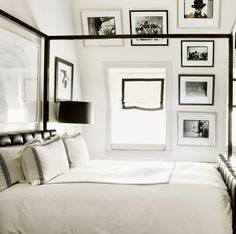 Tommy Hilfiger's bedroom at the Plaza Hotel, NYC.