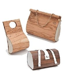 Handbag from wood - Holz-Taschen © Embawo