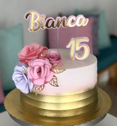 Beautiful Birthday Cakes, Beautiful Cakes, Bolo Tumblr, Hello Kitty Birthday Cake, Fiesta Cake, Balloon Cake, Adult Birthday Cakes, Paper Cake, Shower Cakes