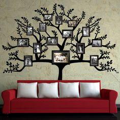 Генеалогическое древо - семейная родословная в вашем интерьере :: Фото красивых интерьеров