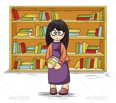 Girl with Books in Their Hands  #GraphicRiver         girl near the bookcase holds in hands books. Contains EPS8 version and high-resolution JPEG     Created: 16November13 GraphicsFilesIncluded: JPGImage #VectorEPS Layered: No MinimumAdobeCSVersion: CS Tags: beauty #book #cartoons #characters #child #concepts #cover #cupboard #cute #education #eyeglasses #girls #glass #hair #ideas #knowledge #learning #little #revival #school #shelving #student #study #vector