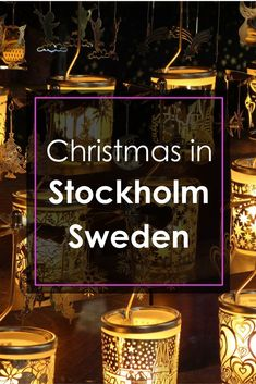 When winter's long dark nights roll around, Stockholm's sublime warmth and rich history bubble up to the surface, revealing its traditional soul, shares Lola A. Åkerström, about Christmas in Stockholm. Stockholm Winter, Sweden Stockholm, Sweden Christmas, Scandinavian Christmas, George Town, Swedish Traditions, Christmas Traditions, Kingdom Of Sweden, Christmas Travel