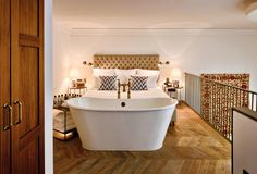 Looking for the Soho House Istanbul - Special Category Istanbul ? Check our special offers and deals on our collection: My Boutique hotel Istanbul Soho House Istanbul, Istanbul Hotels, Soho Hotel, Chic Beach House, Beach Houses, Mezzanine Bedroom, Bedroom With Bath, Master Bedrooms, Bathrooms