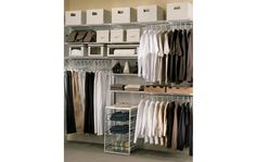 White freedomRail Closet