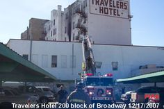December 2007 San Antonio Fire Department Operating at a Hotel Fire