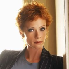 NCIS Director Jenny Shepard.  R.I.P. sadly gone was always well tited