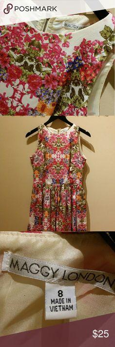 Selling this Maggy London Floral Dress on Poshmark! My username is: usxgichxn. #shopmycloset #poshmark #fashion #shopping #style #forsale #Maggy London #Dresses & Skirts
