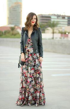 Sophistifunk by Brie Bemis Rearick | A Personal Style + Beauty Blog: Flowy Floral Maxi
