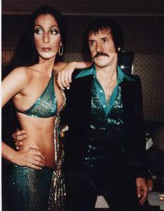 Viejo Hollywood, I Got You Babe, Cher Bono, Fashion Couple, Music Photo, Vogue Magazine, Star Wars, Famous Women, Celebs