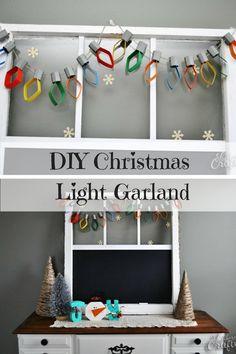 DIY Christmas Tree L