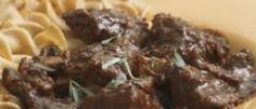Brasato Dietetico Di Carne Ai Funghi: 224 Calorie