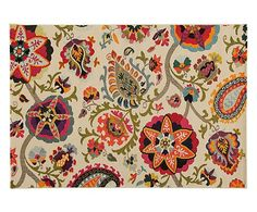 Tappeto floreale Tangeri - 80x150 cm