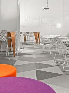 triangular carpet pattern