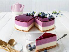 Fancy Desserts, No Bake Desserts, Dessert Recipes, Baking Recipes, Cookie Recipes, Cheesecake Recipes, Blueberry Cheesecake, Mango Cheesecake, Sweet Cakes