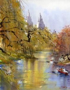 Watercolor Paintings by Thomas W. Schaller