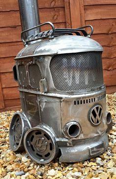 Volkswagen – One Stop Classic Car News & Tips Metal Projects, Welding Projects, Welding Ideas, Diy Projects, Vw Camping, Vw Vintage, Vintage Sport, Combi Vw, Car Volkswagen