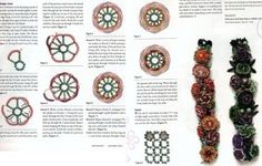 Цветник  cabbage rose  instructions in English