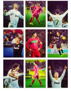 Cristano Ronaldo: The greatest soccer player you'll ever know. Seriously I love this guy. Makes me wanna play soccer...now. c: