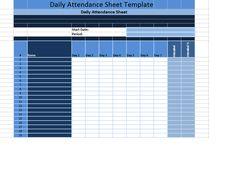 Employee Attendance Calendar Employee Attendance Tracker