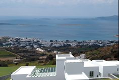 Paros - Agkairia, under construction luxury detached house with private pool and breathtaking panoramic view.