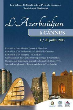 L'Azerbaïdjan à Cannes - © Ville de Cannes 2013
