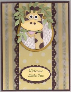 MFP #91 Simple Saluations Welcome Card by bmbfield - Cards and Paper Crafts at Splitcoaststampers