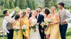 Browse gorgeous wedding photos from real Zola couples, and find ideas, venues, vendors, and more for your special day. Keystone Resort, Colorado Wildflowers, Summer Events, Old World Charm, Bridesmaid Dresses, Wedding Dresses, Pretty Pastel, Wild Flowers, Real Weddings