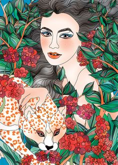 - Colorful Illustrations by Ella Tjader  <3 <3