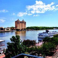 View of the Savannah River