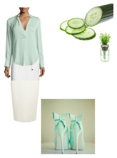 """""""Cucumber Mint"""" by snazzydiva2002 on Polyvore featuring art"""