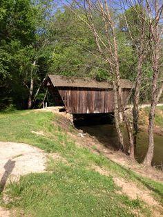 Covered bridge near Helen, Ga. photo Susan Knight
