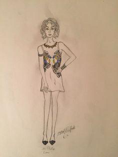 Fashion Illustration 3.1 Phillip Lim Dress
