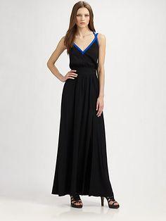 Jay Godfrey - Silk Maxi Dress - Saks.com