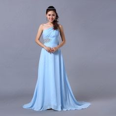 Sexy Shinning Wedding Elegant Evening Cocktail Ball Prom Gowns Long Dress