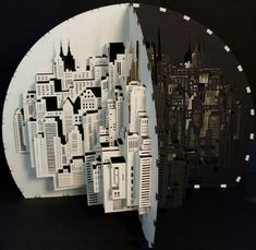 Paper Architecture: Intricate 3D Sculptures by Ingrid Siliakus.      Shut up and take my money.  These are amazing.