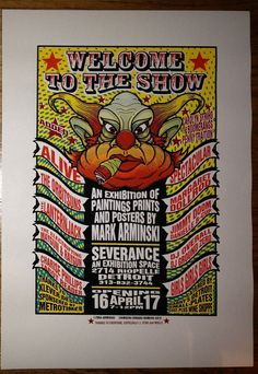 Welcome To The Show Mark Arminski 2004 poster