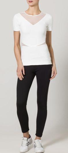 Via Adidas   Stella McCartney for Adidas White Tee
