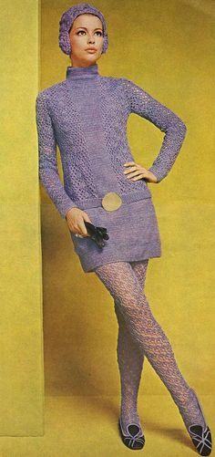 Why Buy Vintage Clothing/ Seventies Fashion, Mod Fashion, 1960s Fashion, Knit Fashion, Trendy Fashion, Vintage Fashion, Fashion Clothes, 1970 Style, Style Année 60