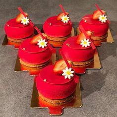 gâteau fraise noix de coco